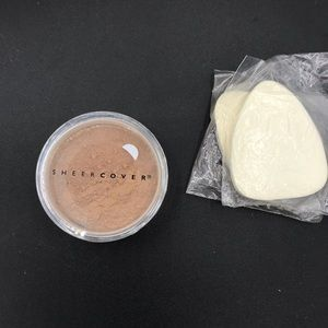 New sealed Sheer Cover mineral foundation